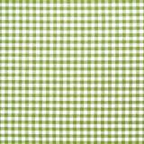 Cuadritos vichy en verde aceituna