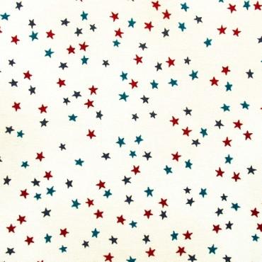 Tela patchwork Simply Gorjuss estrellitas de colores