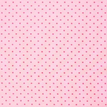Tela patchwork lunarcitos fucsia sobre rosa