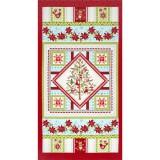Panel patchwork de Navidad O Christmas Tree