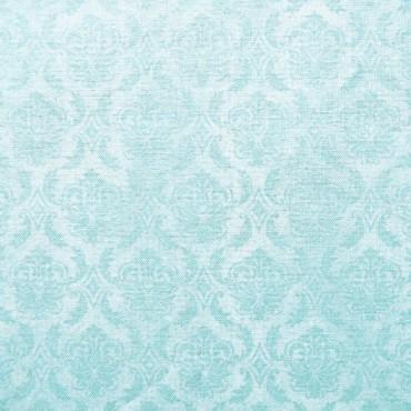 Tela patchwork Gorjuss On Top of the World adamascado azul