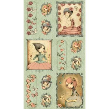 Panel patchwork Mirabelle