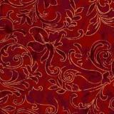 Tela patchwork Season's Greetings en rojo