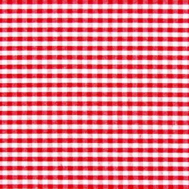 Tela patchwork cuadritos Vichy rojo cereza
