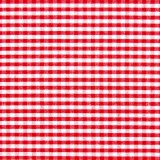 Tela patchwork cuadritos Vichy rojo cereza 1