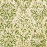 Tela patchwork Wallflower adamascado antiguo en verde 1