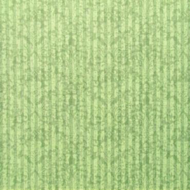 Tela patchwork Mirabelle rayas adamascadas en verde
