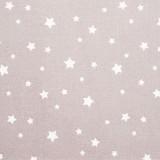 Tela patchwork estrellas blancas sobre gris 1